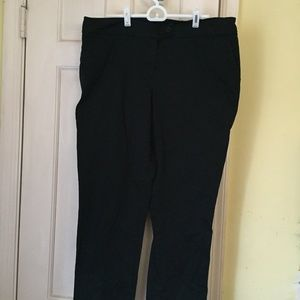 EUC Jones New York Black Dress Work Pants 12